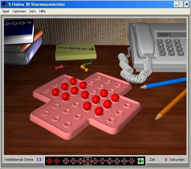 Screenshot 1 - S-Halma 3D
