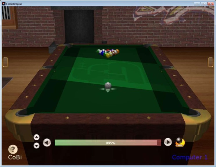Screenshot 1 - FooBillard++