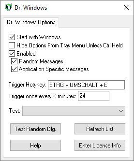 Screenshot 1 - Dr. Windows