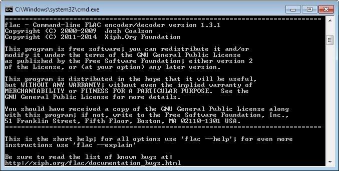 Screenshot 1 - FLAC