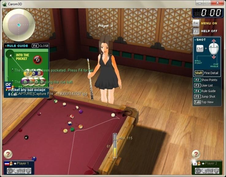 Screenshot 1 - Carom3D