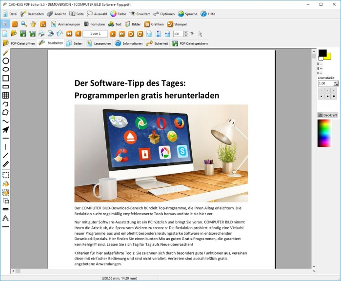 Screenshot 1 - PDF Editor
