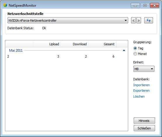 NetSpeedMonitor (32 Bit) 2 5 4 0 - Download - COMPUTER BILD