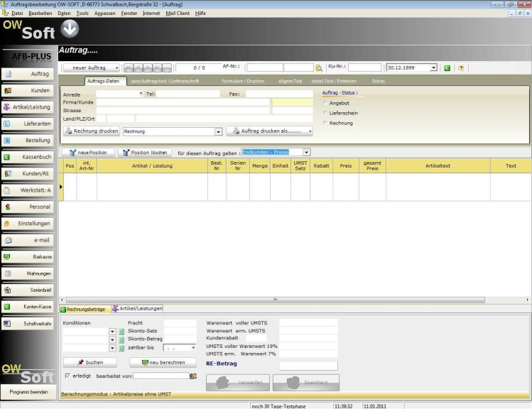 Screenshot 1 - AFB-Professional-Plus