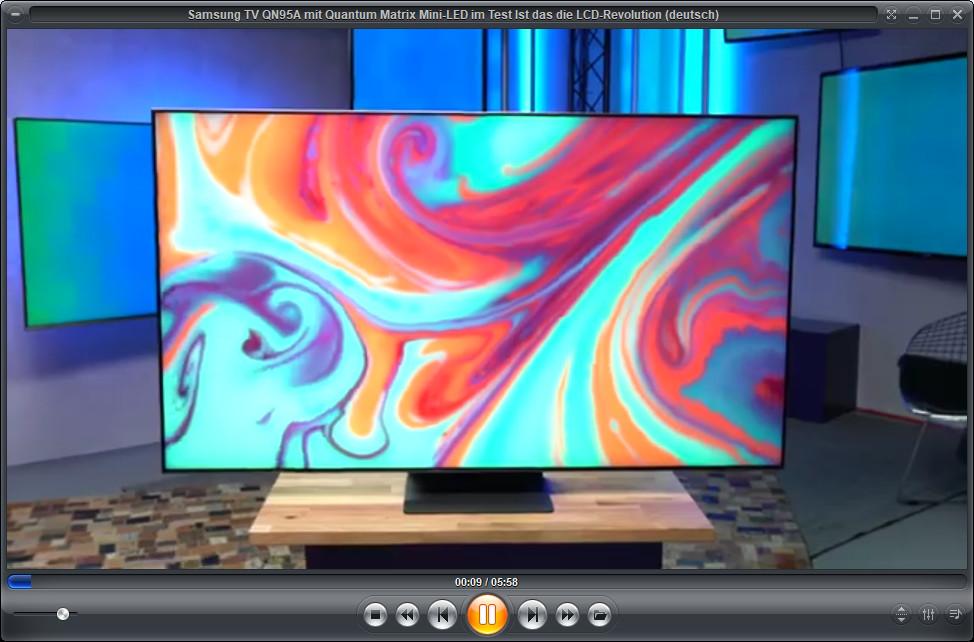 Screenshot 1 - Zoom Player Free