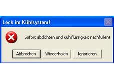 Screenshot 1 - WinFehler
