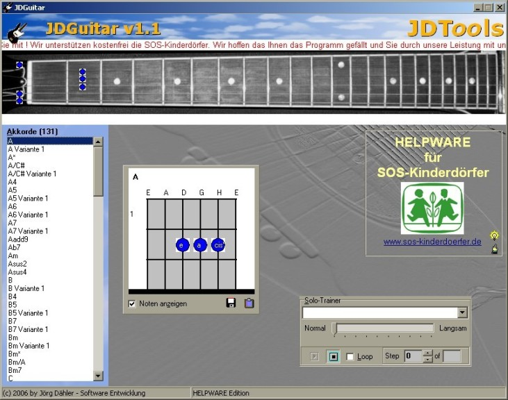 Screenshot 1 - JDGuitar