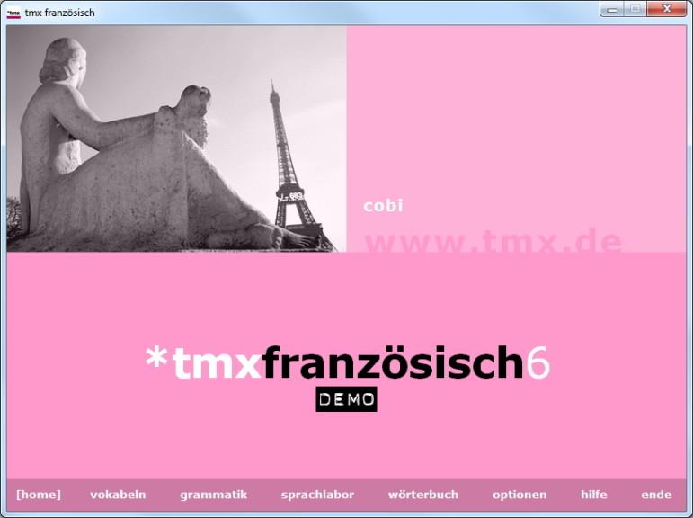 Screenshot 1 - tmx Französisch