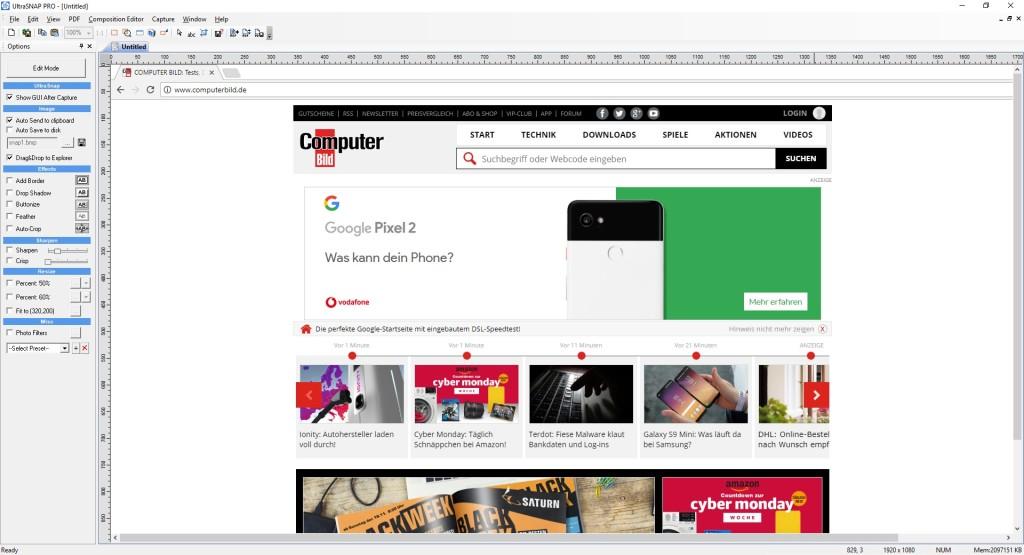 Screenshot 1 - UltraSnap