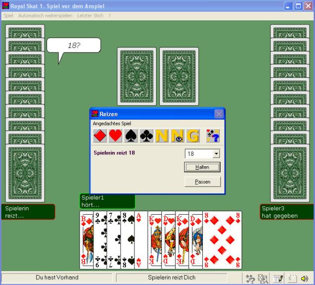 Screenshot 1 - Royal Skat