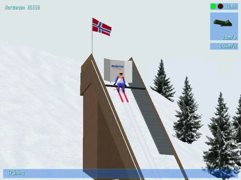Screenshot 1 - Deluxe Ski Jump 3