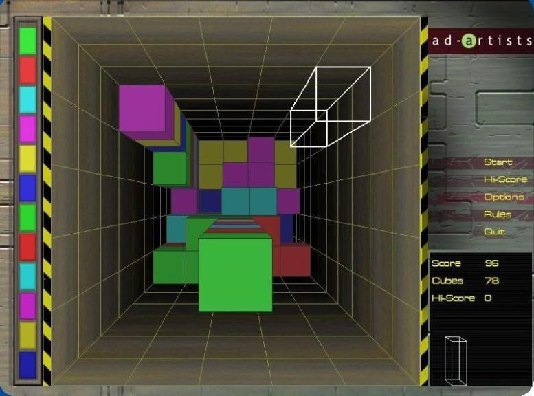 Screenshot 1 - Cube Drop 3D