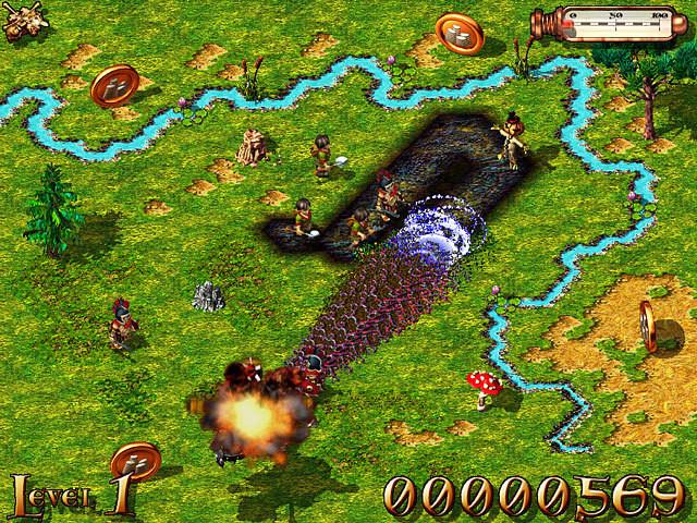 Screenshot 1 - Die Siedler IV – Die Dunkle Seite