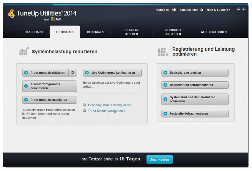 tuneup utilities free download full version with key