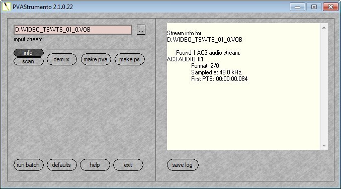 Screenshot 1 - PVAStrumento