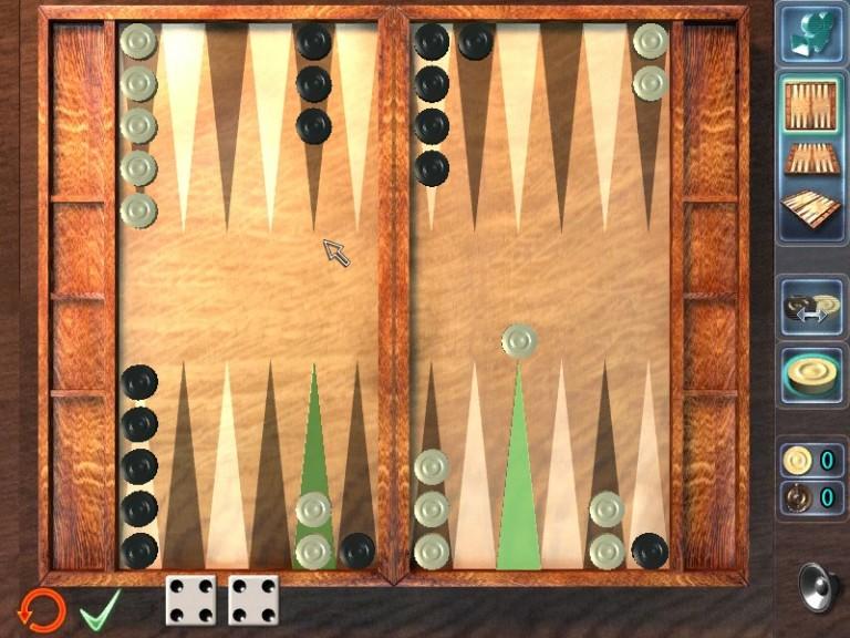 Screenshot 1 - Backgammon XXL