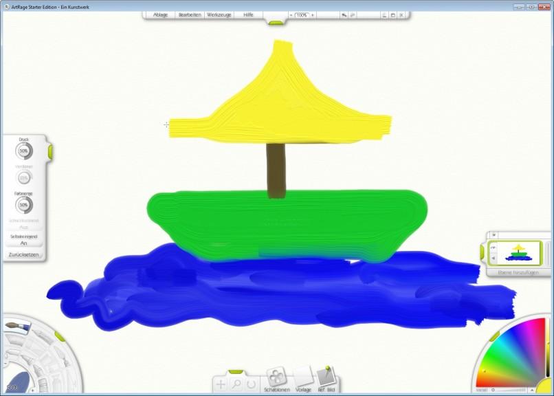 Screenshot 1 - ArtRage Starter Edition