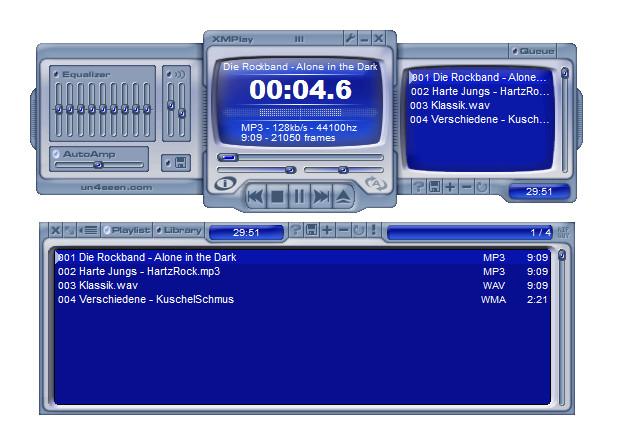 Screenshot 1 - XMPlay