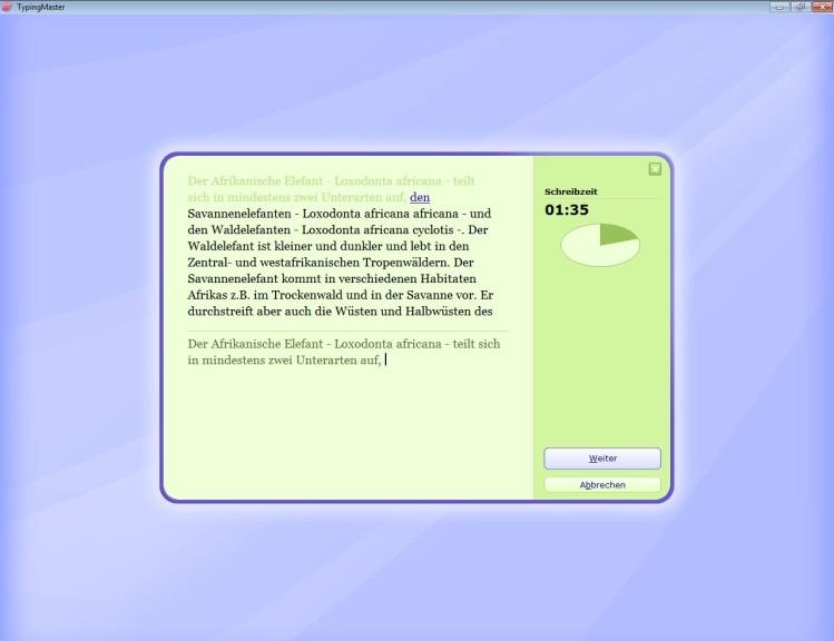 Screenshot 1 - TypingMaster Pro