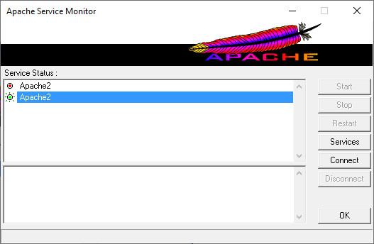 Screenshot 1 - Apache HTTP Server
