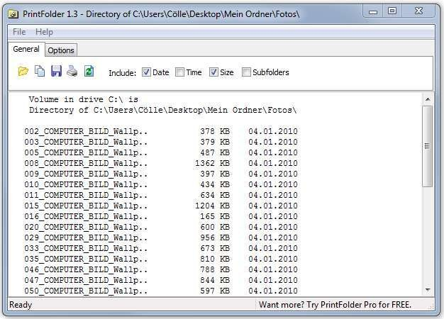 Screenshot 1 - PrintFolder