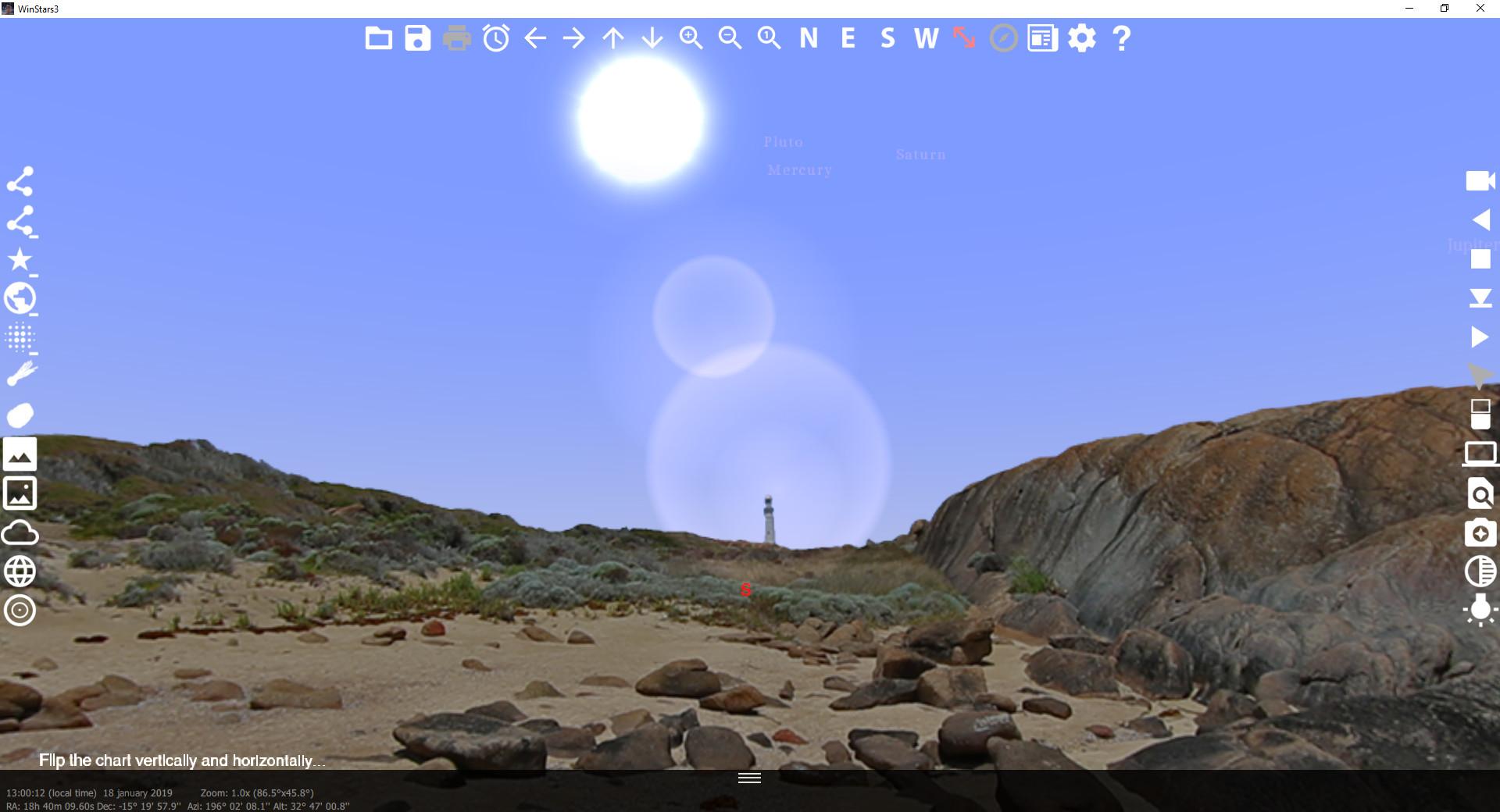 Screenshot 1 - WinStars
