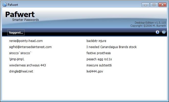 Screenshot 1 - Pafwert