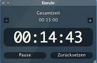 Screenshot 1 - Alarm Clock (Mac)