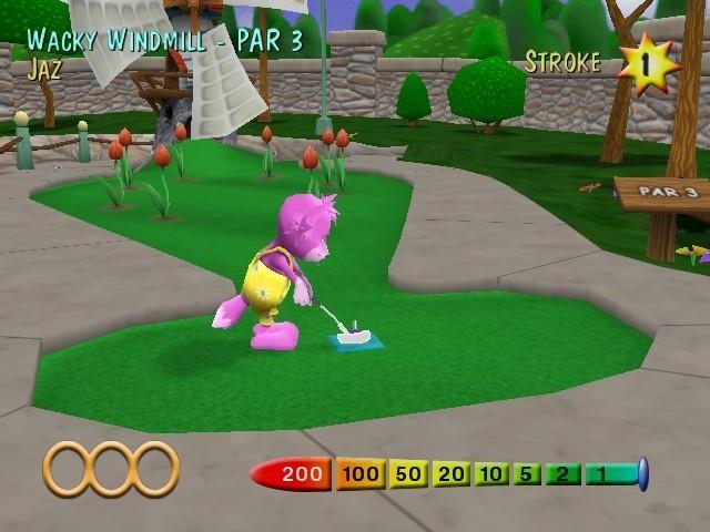 Screenshot 1 - Minigolf Maniacs