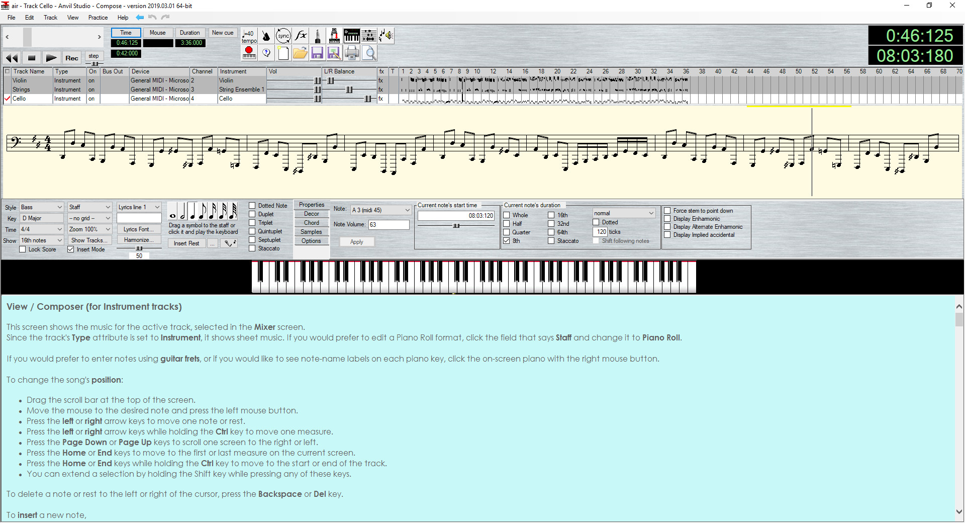 Screenshot 1 - Anvil Studio