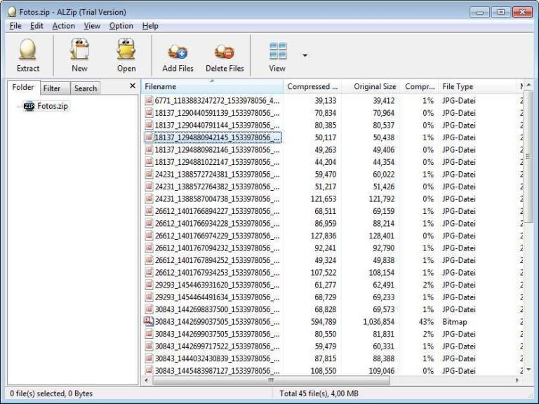 Screenshot 1 - ALZip