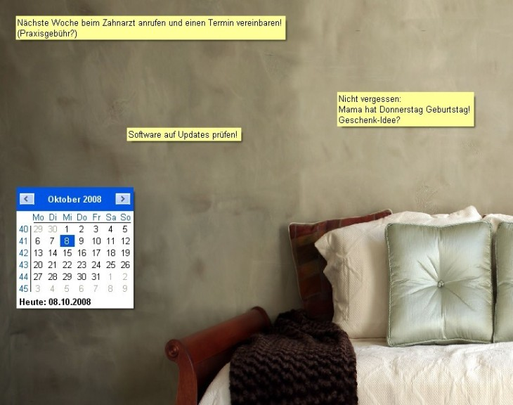 Screenshot 1 - ATnotes