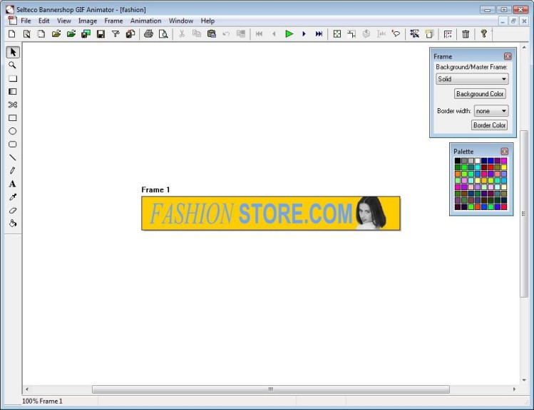 Screenshot 1 - Bannershop GIF Animator