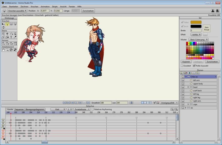 Screenshot 1 - Moho Pro (Anime Studio)