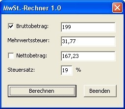 MwSt.-Rechner