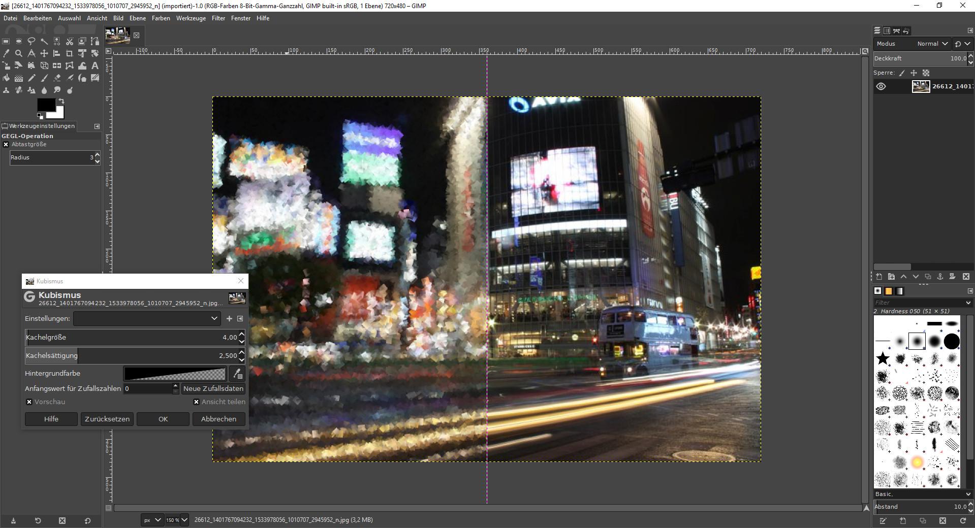 Screenshot 1 - GIMP Portable
