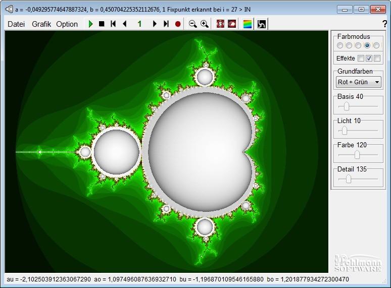 Screenshot 1 - Fractal