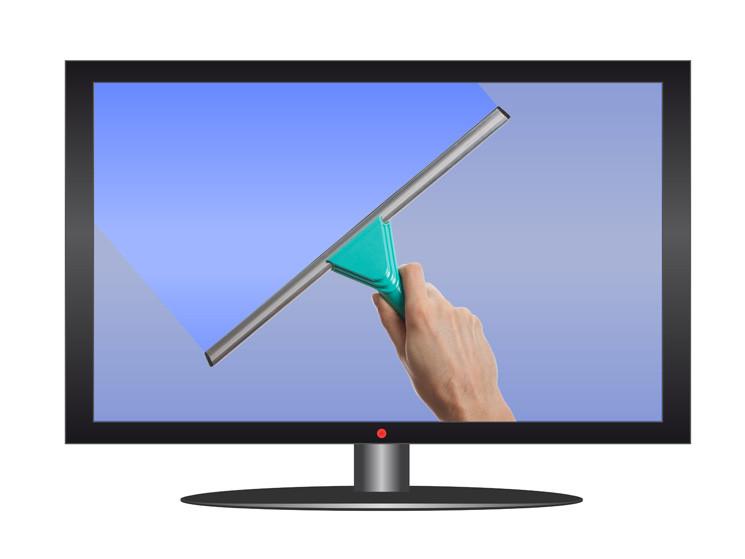 flachbildfernseher reinigen so putzen sie lcds und plasma. Black Bedroom Furniture Sets. Home Design Ideas