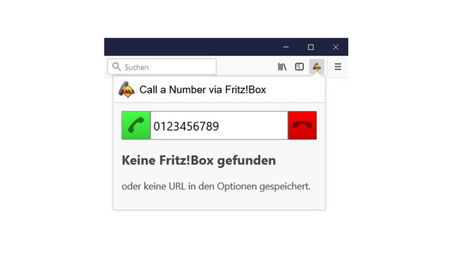 Call a Number via FritzBox © COMPUTER BILD