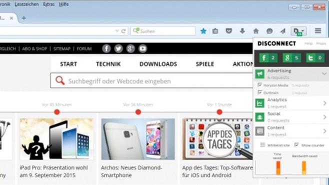 Die beliebtesten Firefox-Add-ons - Bilder, Screenshots