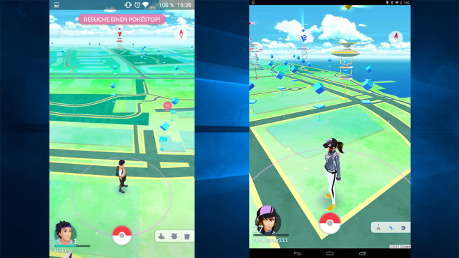 Pokémon GO (APK) ©Niantic