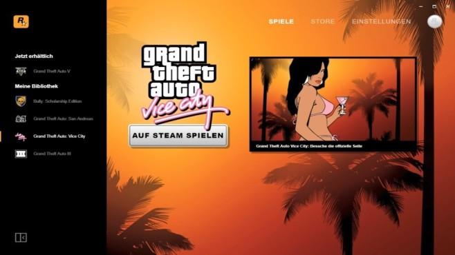 Rockstar Games Launcher ©Rockstar Games