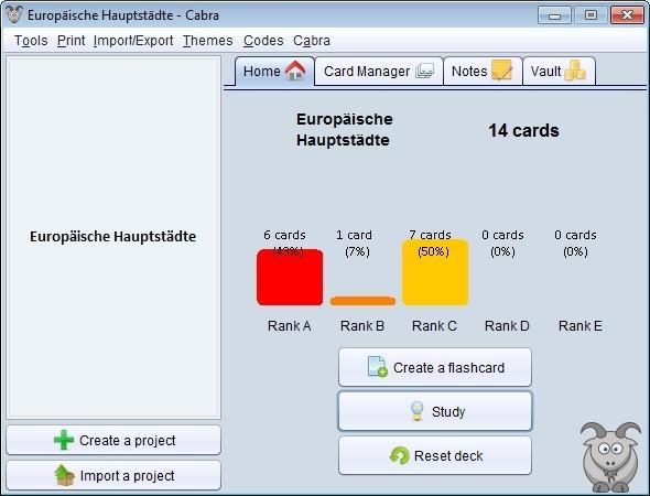Screenshot 1 - Cabra