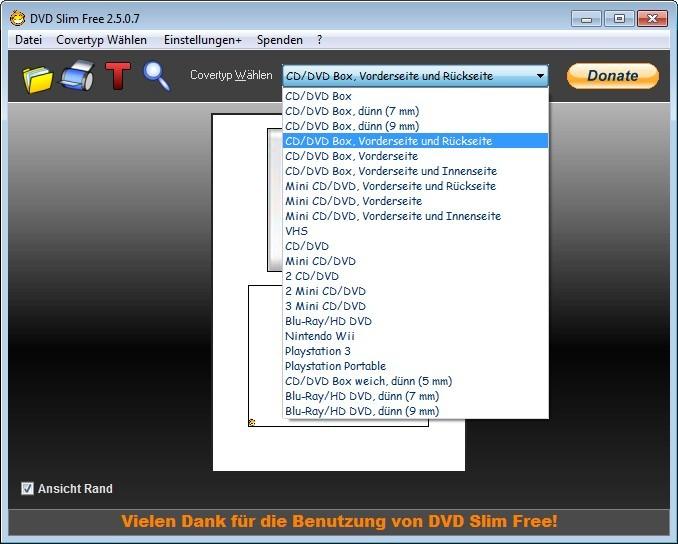 Screenshot 1 - DVD Slim Free