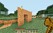 Simulation Minecraft: Behausung © Mojang