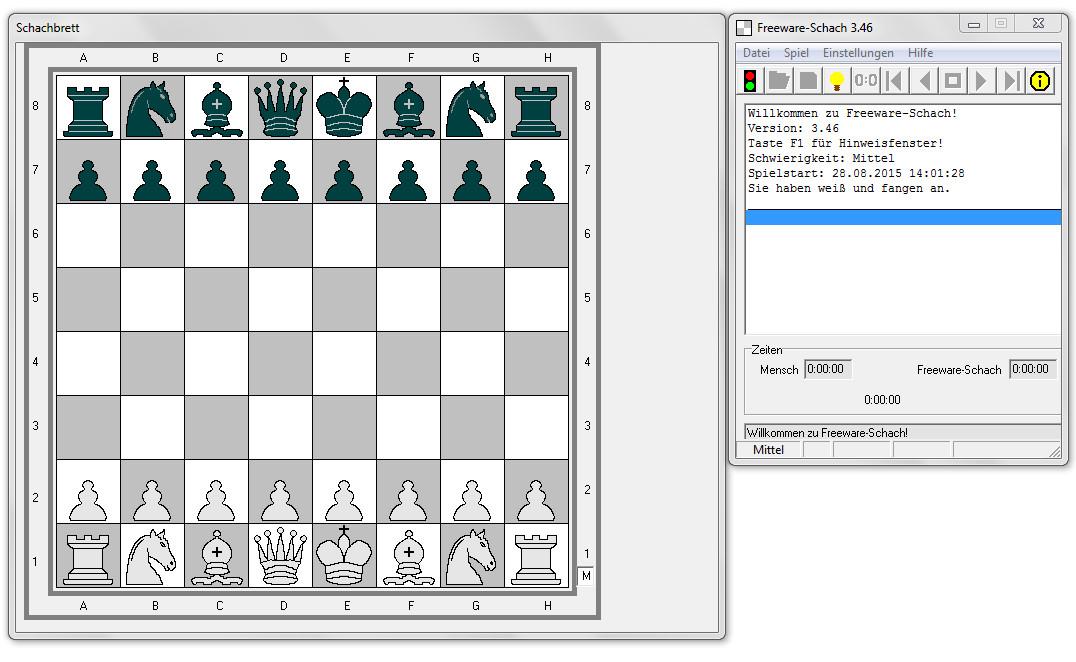 Screenshot 1 - Freeware-Schach