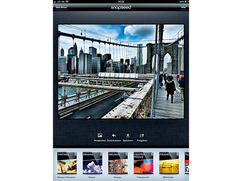 Snapseed ©Nik Software, Inc.