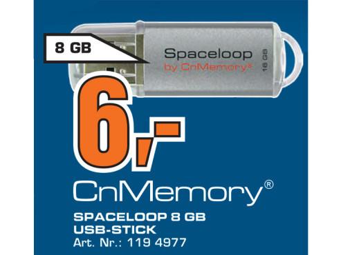 CnMemory Spaceloop 8GB ©Saturn