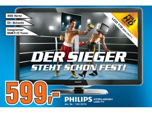 Philips 47PFL4606H ©Saturn