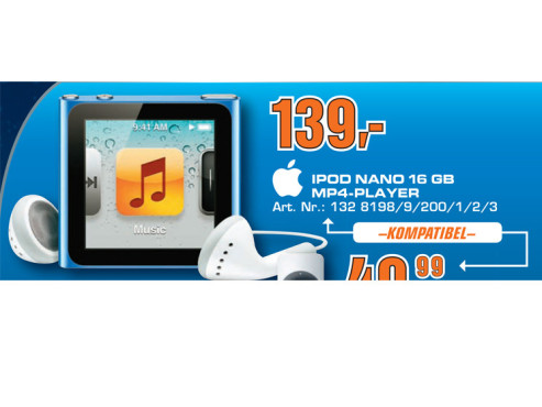 iPod Nano 16GB ©Saturn